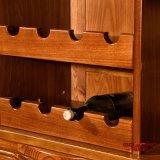 Module solide de vin rouge de chêne de meubles à la maison modernes (GSP9-055)