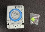 Temporizzatore manuale dell'intervallo cronometrante 24h di controllo di /Auto del temporizzatore meccanico Tb35-N/di Tb-35 AC110V-220V 10A con la batteria