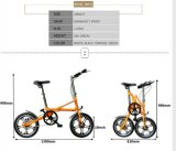 Projeto da X-Forma bicicleta de dobramento de 16 polegadas