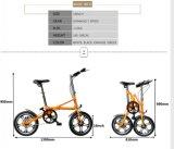 X形デザイン16インチの折る自転車
