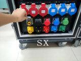 la potencia Distro del Camlock 400A con 32A 5pin impermeabiliza el socket