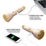 最も新しいカラオケの小型ポータブルUSBの拡声器の無線Bluetoothのスピーカーのマイクロフォン