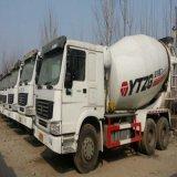 الصين 6*4 [سكند هند] [كنستروكأيشن قويبمنت] معدّ آليّ يستعمل [هووو] خلّاط شاحنة