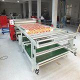 Impression d'huile à haute efficacité 480mm * 1.9m Grand format Textile Calendrier de transfert de chaleur rotatif