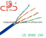 Cavo dell'audio del connettore di cavo di comunicazione di cavo di dati del cavo del cavo/calcolatore di Lancable Utpcat5e