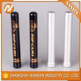 Tubo de encargo de la insignia del cigarro del tubo del conjunto de aluminio de las píldoras