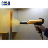 Sistema di rivestimento della polvere con la pistola a spruzzo e l'unità di controllo