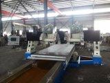 Gantry 4-Лезвий CNC профилируя линейную машину для мрамора/гранита