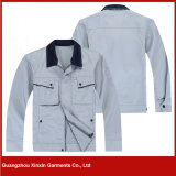 도매 고품질 면 폴리에스테 방어적인 안전 의복 (W164)