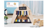 Qualitätsim freienKiefernholz-Haustier-Zelt-Hundehaus mit Kissen