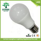 Ampola mais barata do diodo emissor de luz do plástico +Aluminum 9W de E27 B22 A60