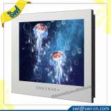 """20 """" - 31 """"スクリーン・サイズの白いキャビネットの浴室防水LCD TVミラーLED TV"""