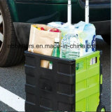 Тележка вагонетки покупкы двойного цвета высокого качества пластичная