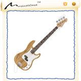 Chitarra elettrica di legno