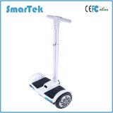 E-Motorino d'Equilibratura Patinete Electrico della rotella calda di vendite 2 di Smartek con il motorino diritto elettrico S-011 del pattino di mini mobilità della batteria di litio del bastone