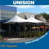 Bâche de protection imperméable à l'eau de tente avec le noir à l'intérieur