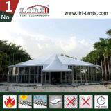 25mの直径ガラス壁が付いているDecagonal党テント