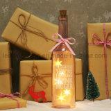 [مولتي-كلور] يرشّ [وين بوتّل] ضوء زخرفة منزل عرس عطلة صنع وفقا لطلب الزّبون تصميم