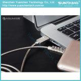 Câble usb micro de remplissage rapide de ressort pour le téléphone d'androïde de Samsung/Xiaomi/Huawei