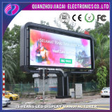 P6 programables panel LED de exterior en vallas
