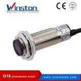 G18 M18 fotoeléctrico Interruptor de barrera tipo difuso Tipo retrorreflectante Tipo