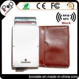[هيغقوليتي] جلد بطاقة مدافع مع بطاقة [إيد] [بدج هولدر] محفظة