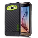 Случай галактики J3 Samsung аргументы за телефона волокна углерода