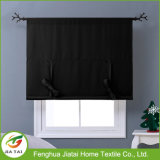 Cortinas pretas da cozinha das cortinas dos tratamentos de indicador novo barato