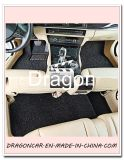 Un pacchetto di 3 anteriori & posteriori, stuoie di plastica resistenti increspate dell'automobile del pavimento della sede di passeggero & del driver