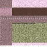 100%Polyester de vierkante Afgedrukte Stof van de Camouflage Pigment&Disperse voor de Reeks van het Beddegoed