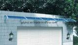プラスチック日曜日の陰の日除けサポートは販売の前ドア雨カバー(YY1500-H)のために使用した日除けを