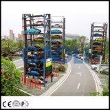 Система стоянкы автомобилей быстрого доступа автоматическая франтовская роторная
