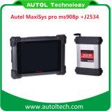 Ursprüngliches Autel Maxisys PROselbstdiagnosehilfsmittel J2534 Ms908p elektronisches Bediengeraet der frau-908p Autel Maxisys 908p programmierend
