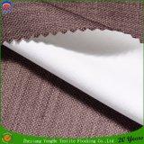 Tissu imperméable à l'eau tissé de rideau en arrêt total de franc de polyester pour l'hôtel