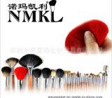 Conjunto 100% de cepillo profesional de lujo del maquillaje del pelo animal del pelo del visión con el bolso de plata 29PCS