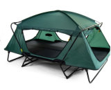 Tenda piegante di campeggio esterna della base di formato della regina