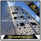 Do painel ao ar livre da fachada do material de construção do metal revestimento de alumínio da parede