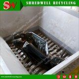 Triturador Industrial de Eixo Duplo automático para resíduos de sucata de metal/pneu/Carro/tambor de metal/madeira/cobre/alumínio/papel/