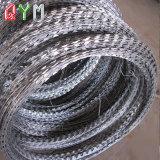 Type de rasoir sur le fil en acier Matériel barbelé concertina