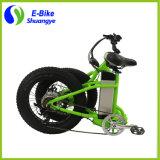 Neuer Entwurf 20 Zoll-Schnee-elektrisches fettes Fahrrad