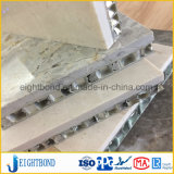 Painel de alumínio de pedra do favo de mel da fábrica 20mm de China para a parede do edifício