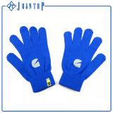 新しいスクリーンの手袋の男女兼用の冬のニットの手袋