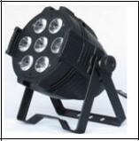 4pcs/caja de cartón 7*15W RGBWA 5en1 LED de interior de la luz de las latas de par