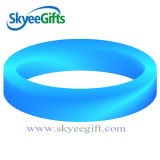 Logo personnalisé Debossed Ink Silicone Bracelet for Promotion