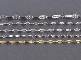 [شينم] مجوهرات عصريّة [ستينلسّ ستيل] نساء شفة عقد ([سّنل2639])