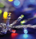 Indicatore luminoso della stringa del PVC dell'albero di Natale del LED