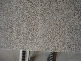La Chine a personnalisé la tuile rouge de granit de peau en pierre normale de tigre polie par taille