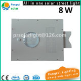 8W het geïntegreerdei Licht van de LEIDENE ZonneSensor van de Straat met Afstandsbediening voor Tuin