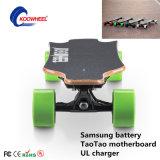 Patín eléctrico de Koowheel del patín eléctrico de 4 ruedas con la batería del LG
