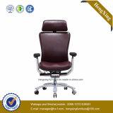 Высокий задний стул офиса кожи коровы офисной мебели 0Nисполнительный (NS-6C126)